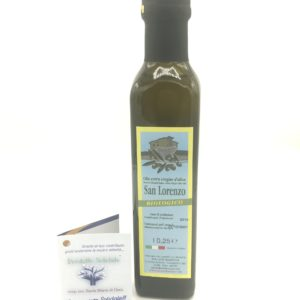 Olio Biologico San Lorenzo Extra Vergine D'oliva 250ml