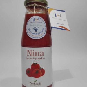 Passata Di Pomodoro Classica Nina – Bottiglia Da 680gr