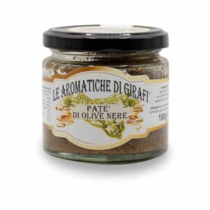 Patè Di Olive Nere Di Girafi Barattolo Da 180gr